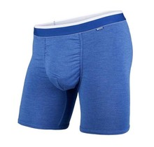CLASSICS BOXER BRIEF BLUE HEATHER/WHITE S