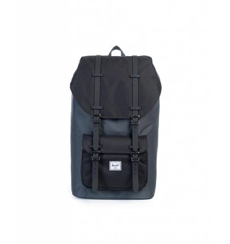 HERSCHEL BACKPACKS LIL AMER 600D POLY RAVENX/BLK