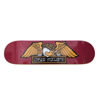 "LOSER MACHINE ALLEYWAY DECK 8.25"" RED"
