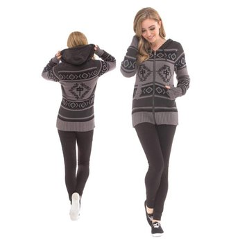 Red Dragon Apparel RDS WOMENS ZIP SWEATER EGYPTIAN