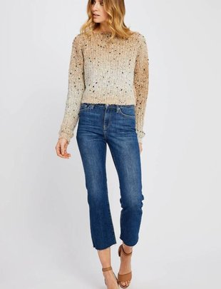 GENTLE FAWN Gentle Fawn Sweater Crop L/Slv Knit Crew Neck