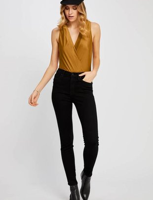 GENTLE FAWN Gentle Fawn Bodysuit Vivienne Slv/Less V Neck w/ Crossover Front