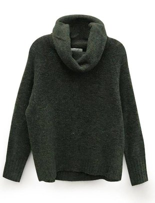 RD INTERNATIONAL RD Int'l Sweater Cowl Neck L/SLv