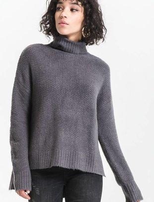 Rag Poets Rag Poets Sweater Andromeda Turtle Neck