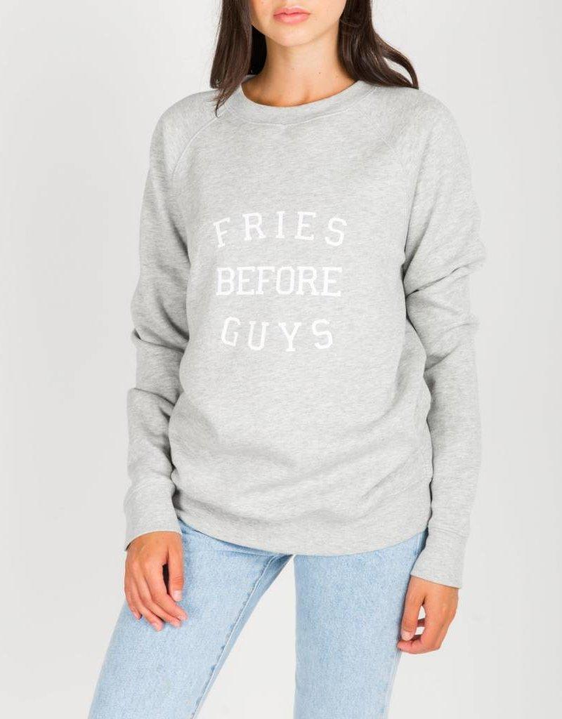 BRUNETTE BRUNETTE Sweatshirt Fries Before Guys