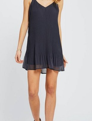 GENTLE FAWN Gentle Fawn Dress Yuna Slv/lss Pleated Mini