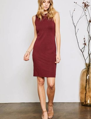 GENTLE FAWN Gentle Fawn Dress Sammi Open Back Bodycon Midi