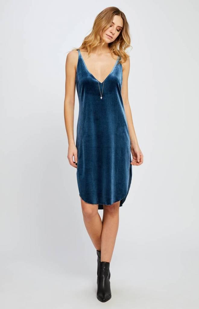 GENTLE FAWN Gentle Fawn Dress Rochette Double V Slv/lss Velvet Midi