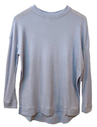 Others Follow Others Follow Shirt JudeL/Sv Waffle Crew Neck w/ High Side Slits