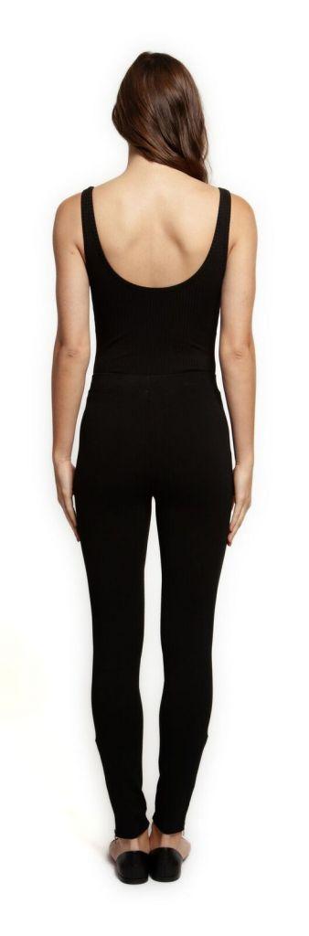 DEX Dex Bodysuit Slv/lss Ribbed Scoop Neck