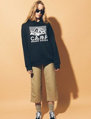 CAMP BRAND GOODS INC. Camp Brand Goods Heritage Logo Hoodie