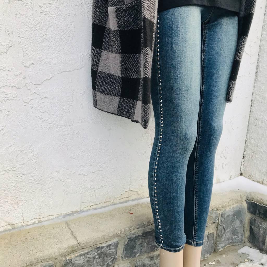 Dex Pants Jeans w/ Stud Detail