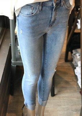 Mavi Jeans Mavi Jeans Tess Distressed High Rise Cuffed Ankle Crop