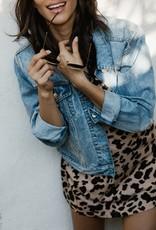 BRUNETTE BRUNETTE Leopard T-Shirt Dress