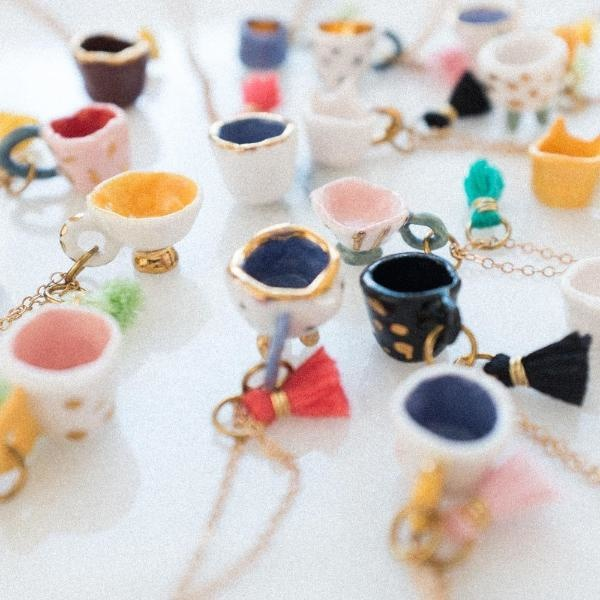 Dawning Necklace Assorted Teacup