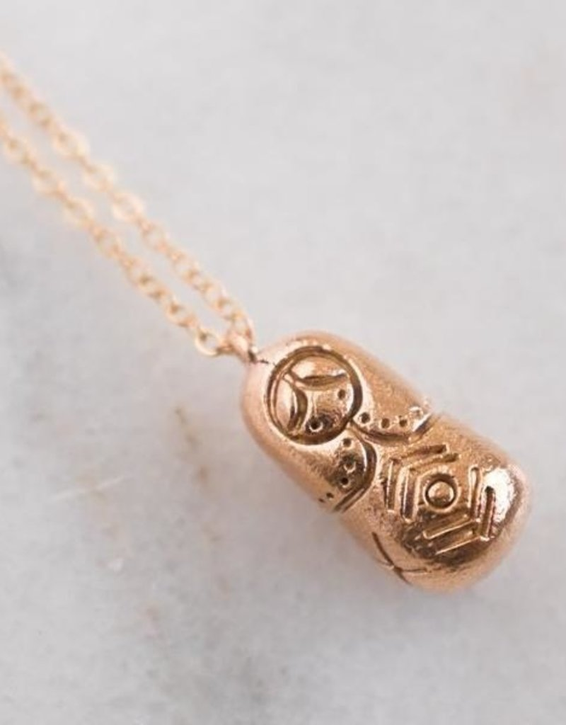 Dawning Dawning Necklace Russian Doll