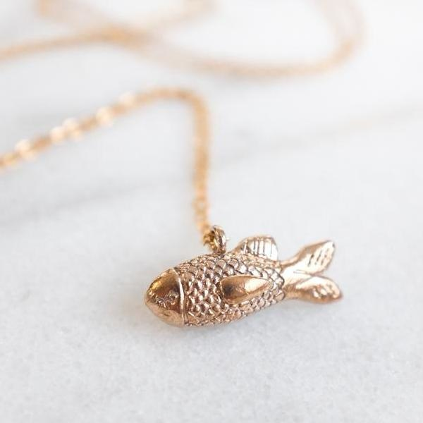 Dawning Necklace Fish