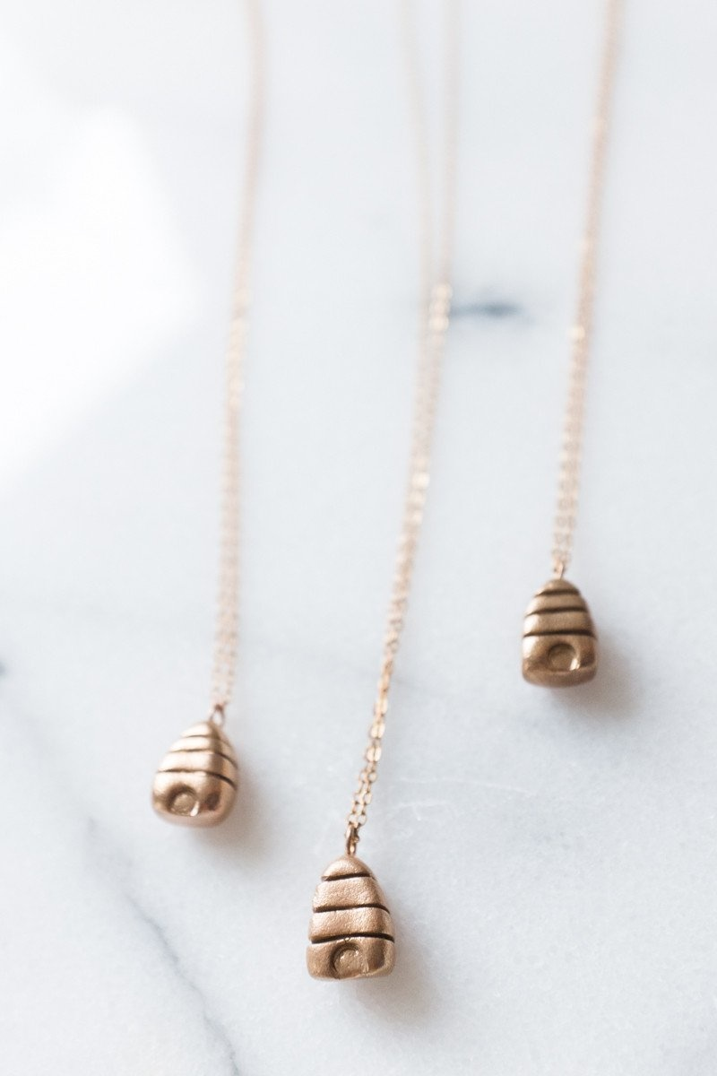 Dawning Necklace Beehive