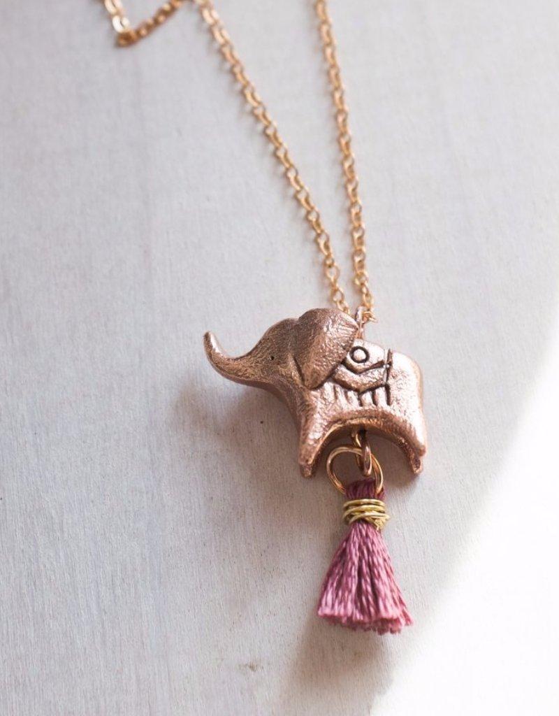 Dawning Dawning Necklace Elephant