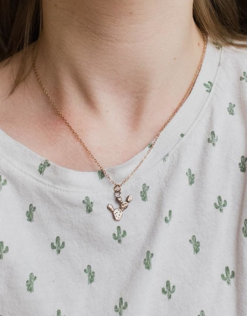 Dawning Dawning Necklace Prickly Pear Cactus
