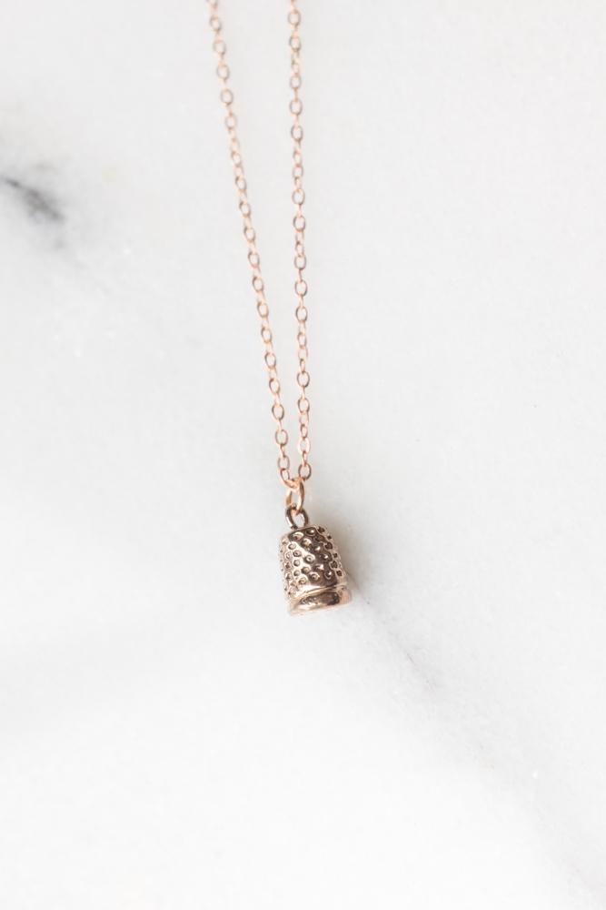 Dawning Necklace Thimble