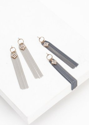 Lovers Tempo Lovers Tempo Earrings Siene Fringe
