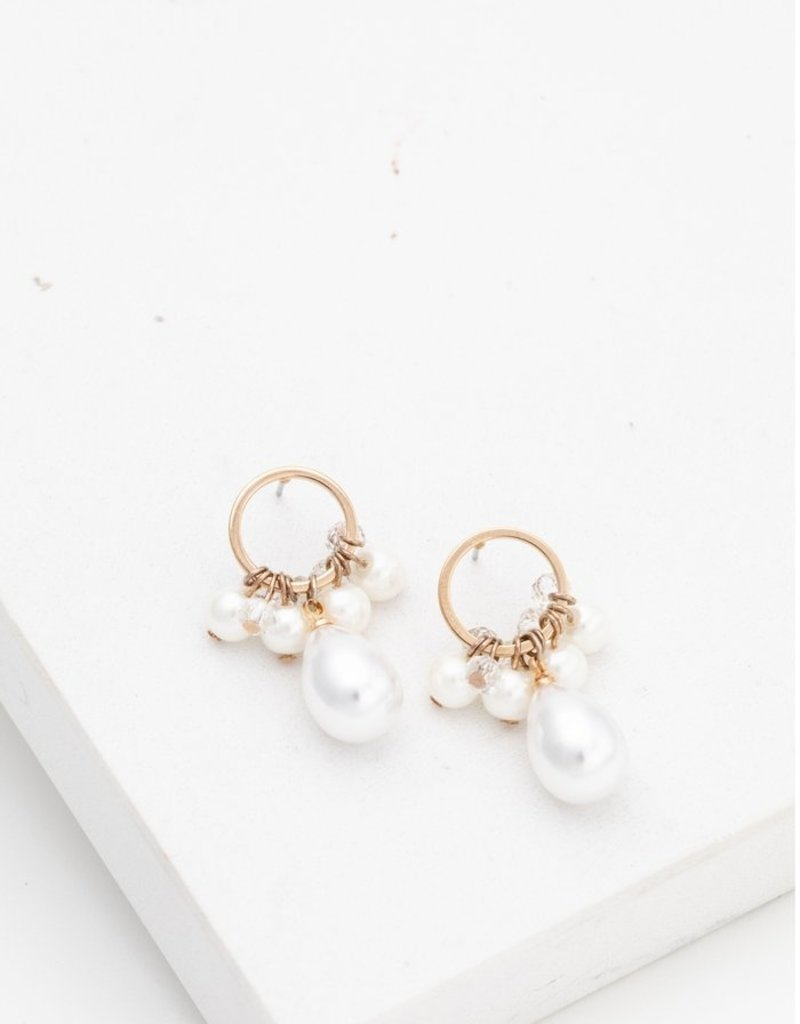 Lovers Tempo Lovers Tempo Drop Earrings Contessa Pearl