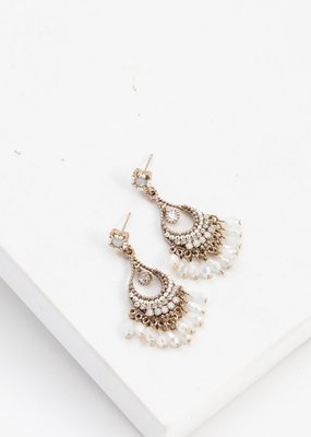 Lovers Tempo Lovers Tempo Earrings Coco Beaded Chandelier