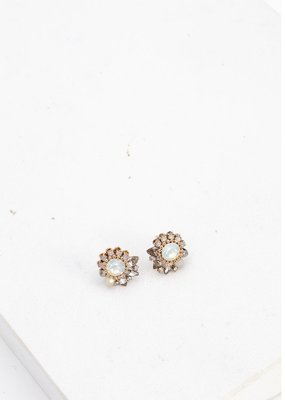 Lovers Tempo Lovers Tempo Earrings Amelia Crystal Post