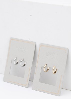Lovers Tempo Lovers Tempo Earrings Silvia Hoop