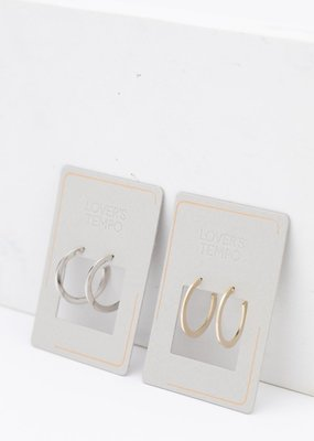 Lovers Tempo Lovers Tempo Earrings Gloria Large Hoop