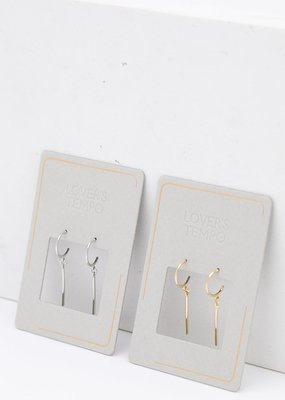 Lovers Tempo Lovers Tempo Earrings Everly Bar Hoop