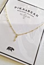 PIKA&BEAR Pika & Bear Necklace 'Bullseye' Arrow Pendant