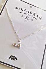 PIKA&BEAR Pika & Bear Necklace 'Stretch' Cat Pendant