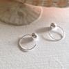 Pika & Bear Earrings 'Hale-Bopp' Hugger