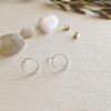 Pika & Bear Earrings 'Oberon' Hoop