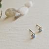 Pika & Bear 'Tiny Dancer' Ocean Opal Stud Earrings