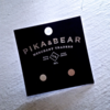Pika & Bear Earrings 'Cylin' Minimalistic Stud