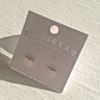 Pika & Bear Earrings 'Total Eclipse of the Heart' Heart Stud