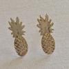 Pika & Bear Earrings 'Aloha' Pineapple Stud