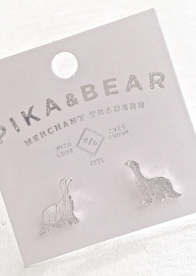 PIKA&BEAR Pika & Bear Earrings 'Bronto Buddies' Stud