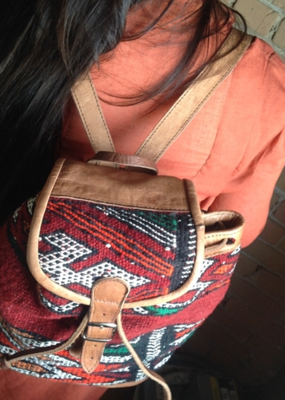 PIKA&BEAR Pika & Bear Backpack 'Tangiers' Kilim Day Pack