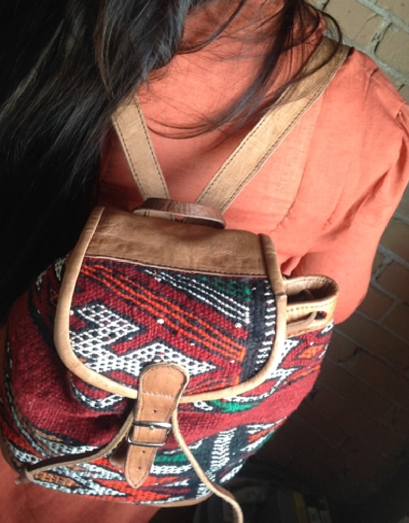 PIKA&BEAR Pika & Bear Backpack 'Tangiers' Kilim Day Pack