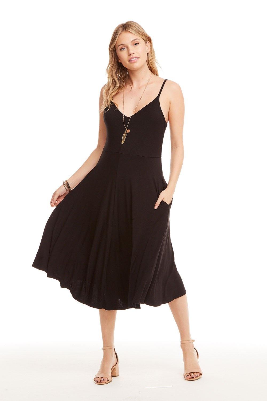 Chaser Sunday Dress Strappy Midi