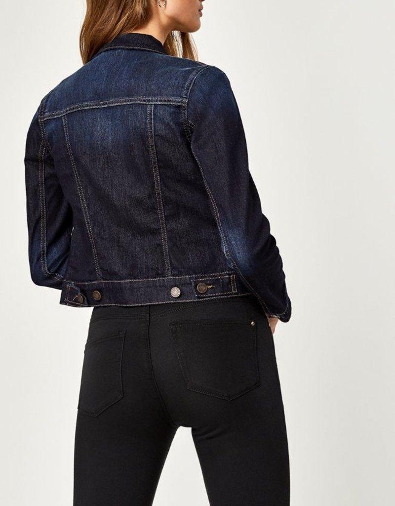 Mavi Jeans Mavi Samantha Denim Jacket w/ Gold Stitching