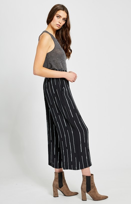 Gentle Fawn Pant Cropped Wide Leg