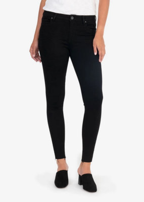 Kut from the Kloth Kut from the Kloth Donna Ankle Skinny High Rise W/ Raw Hem