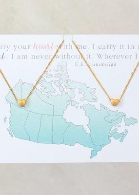 Miandu Miandu Heart Necklace Set