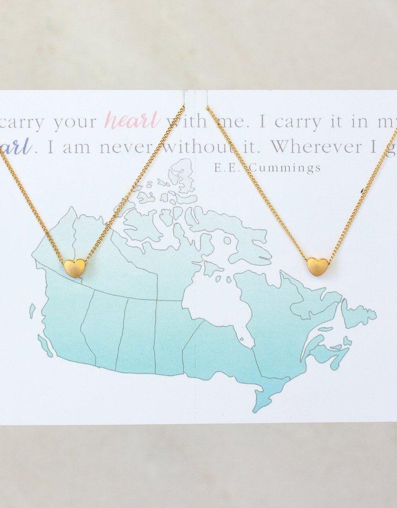 Miandu Heart Necklace Set