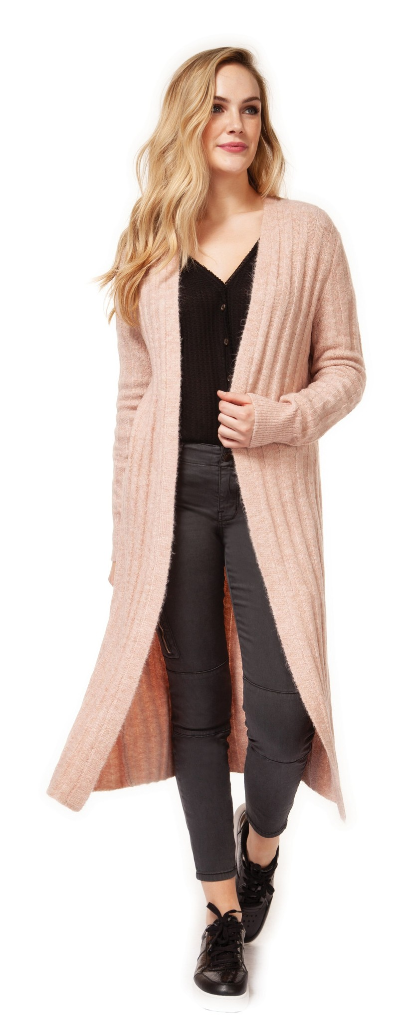 Dex Cardigan Longline Open Duster